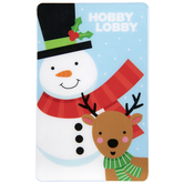 Snowman & Reindeer Gift Card
