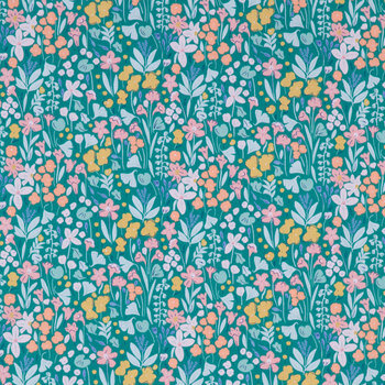 Floral Woodland Cute Apparel Fabric