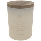Heartland Harvest Wood Wick Jar Candle