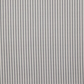 Gray & White Ticking Striped Outdoor Fabric