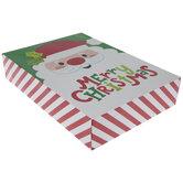 Merry Christmas Santa Gift Box