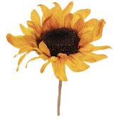 Orange Sunflower Pick