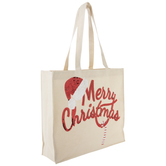 Merry Christmas Canvas Tote Bag