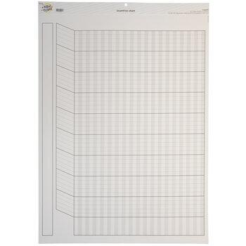 White Horizontal Incentive Chart