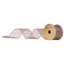 Rose Gold Metallic Deco Mesh Ribbon - 2 1/2
