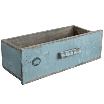 Rectangle Wood Drawer Container