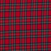 Red, Blue & Green Plaid Apparel Fabric