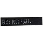 Bless Your Heart Wood Decor
