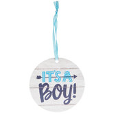It's A Boy Gift Tags