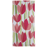 Pink Tulips Kitchen Towel