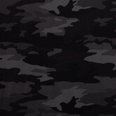 Black & Gray Camouflage Knit Fabric