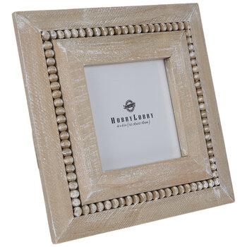 Distressed & Beaded Wood Frame