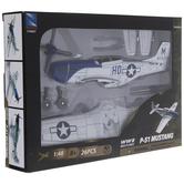 P-51 Mustang War Plane Model Kit