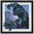 Black Panther Lenticular Wood Wall Decor