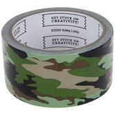 Green Camouflage Art Project Tape