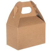 Mini Kraft Gable Boxes