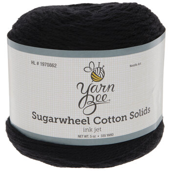 Yarn Bee Sugarwheel Cotton Solids Yarn