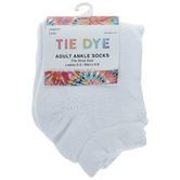 Tie Dye Adult Ankle Socks