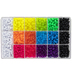 Neon Brights Plastic Bead Box