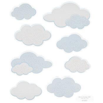 Cloud Glitter Stickers