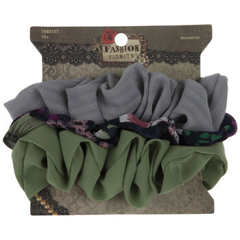 Natural & Floral Scrunchies