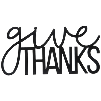 Give Thanks Wood Wall Decor- Now .00! |Hobby Lobby|