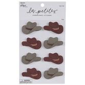 Cowboy Hat 3D Stickers