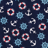 Nautical Cuteness Cotton Fabric