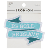 Be Bold Iron-On Applique