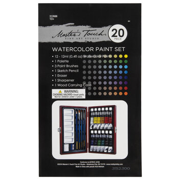 Watercolor Paint Set - 20 Pieces