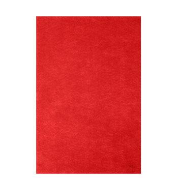 Red Stiffened Felt Sheet