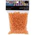 Neon Orange Plastic Pony Beads