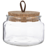 Corked Glass Jar