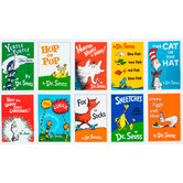 Dr. Seuss Book Panel Cotton Fabric