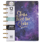 2021 Celestial Horizontal Happy Planner - 12 Months