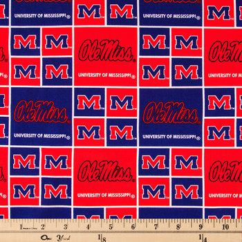 Mississippi Block Collegiate Cotton Fabric