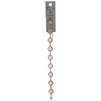 Imitation White Opal Bracelet
