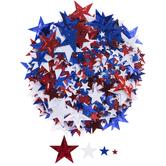Red, White & Blue Star Confetti