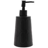 Matte Black Soap Dispenser