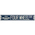 Jeep Four Wheel Drive Metal Sign