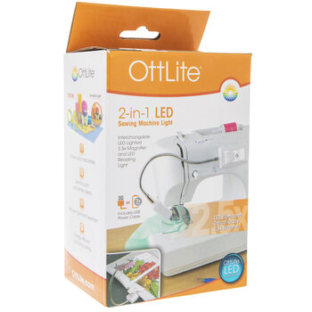 OttLite 2-In-1 LED Sewing Machine Light