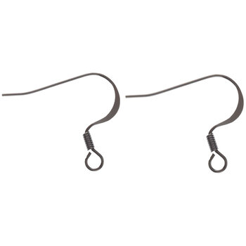 Flat Ear Wires - 18mm