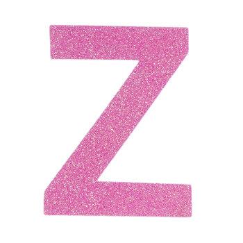 """Glitter Wood Letter Z - 4"""""""