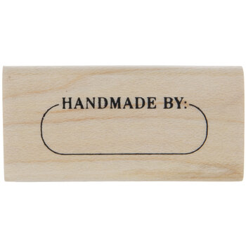 Handmade By Rubber Stamp