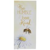 Bee Humble & Bee Kind Wood Decor