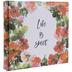 Life Is Sweet Floral Post Bound Scrapbook Album - 6