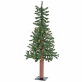 Alpine Pre-Lit Christmas Tree - 3'