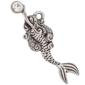 Swimming Mermaid Charms