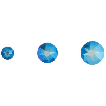 Shimmer Xirius Flatback Combo Crystals