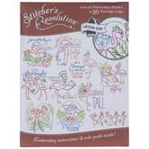Flamingo Lingo Embroidery Transfer Sheet